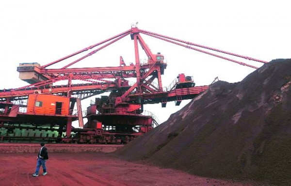 IRON ORE SPOT PRICES WAS FAULTY