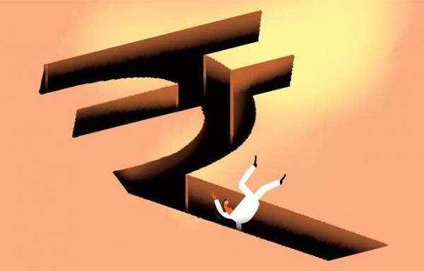 RUPEE WEAKENED PAST 75 FOR THE FIRST TIME IN EIGHT MONTHS THIS WEEK
