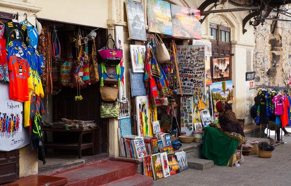 worlds biggest mall, stone town market of zanzibar